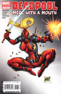 Deadpool Merc with a Mouth Vol 1 7 Variant 2nd Print