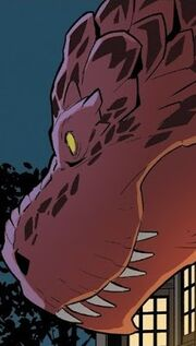 Devil Dinosaur (Earth-Unknown) from Unbelievable Gwenpool Vol 1 25 001.jpg