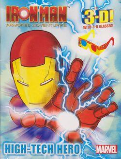 Iron Man Armored Adventures - High-Tech Hero Australian edition.jpg