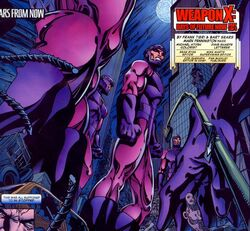 Sentinels (Earth-5700) Weapon X Days of Future Now Vol 1 1.jpg