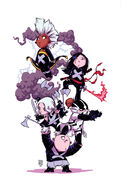 Uncanny X-Force Vol 2 1 Baby Variant Textless