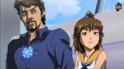 Anthony Stark (Earth-101001) and Aki (Earth-101001) from Marvel Anime Season 1 8 0001.jpg