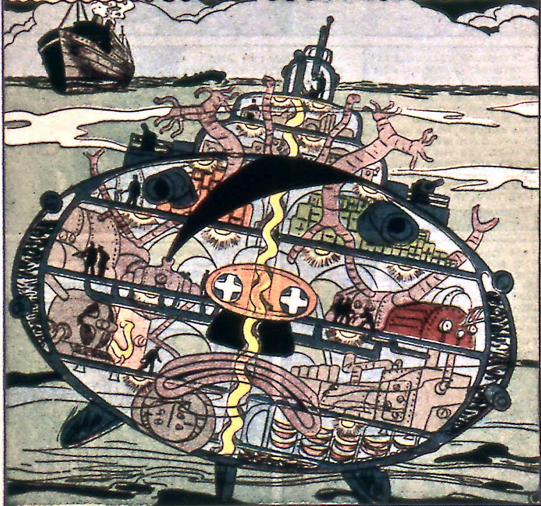Baron von Wetzel's Submarine