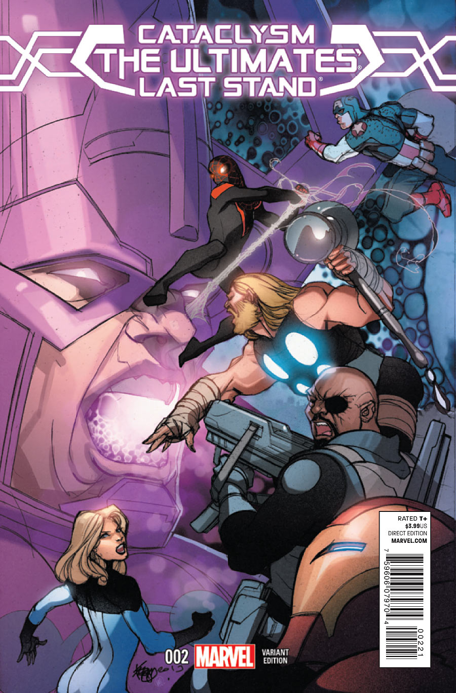 Cataclysm The Ultimates' Last Stand Vol 1 2 Yu Variant.jpg
