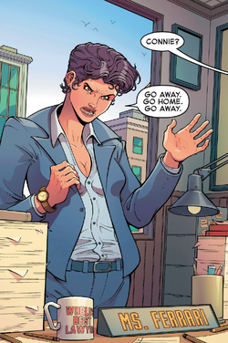 Connie Ferrari (Earth-616) from Great Lakes Avengers Vol 1 1 001.png