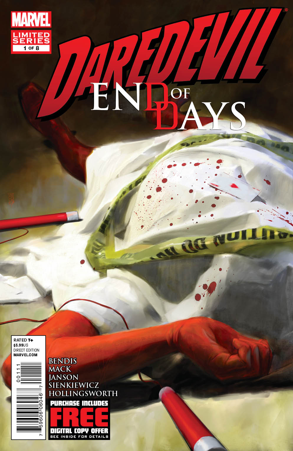 Daredevil: End of Days Vol 1 1