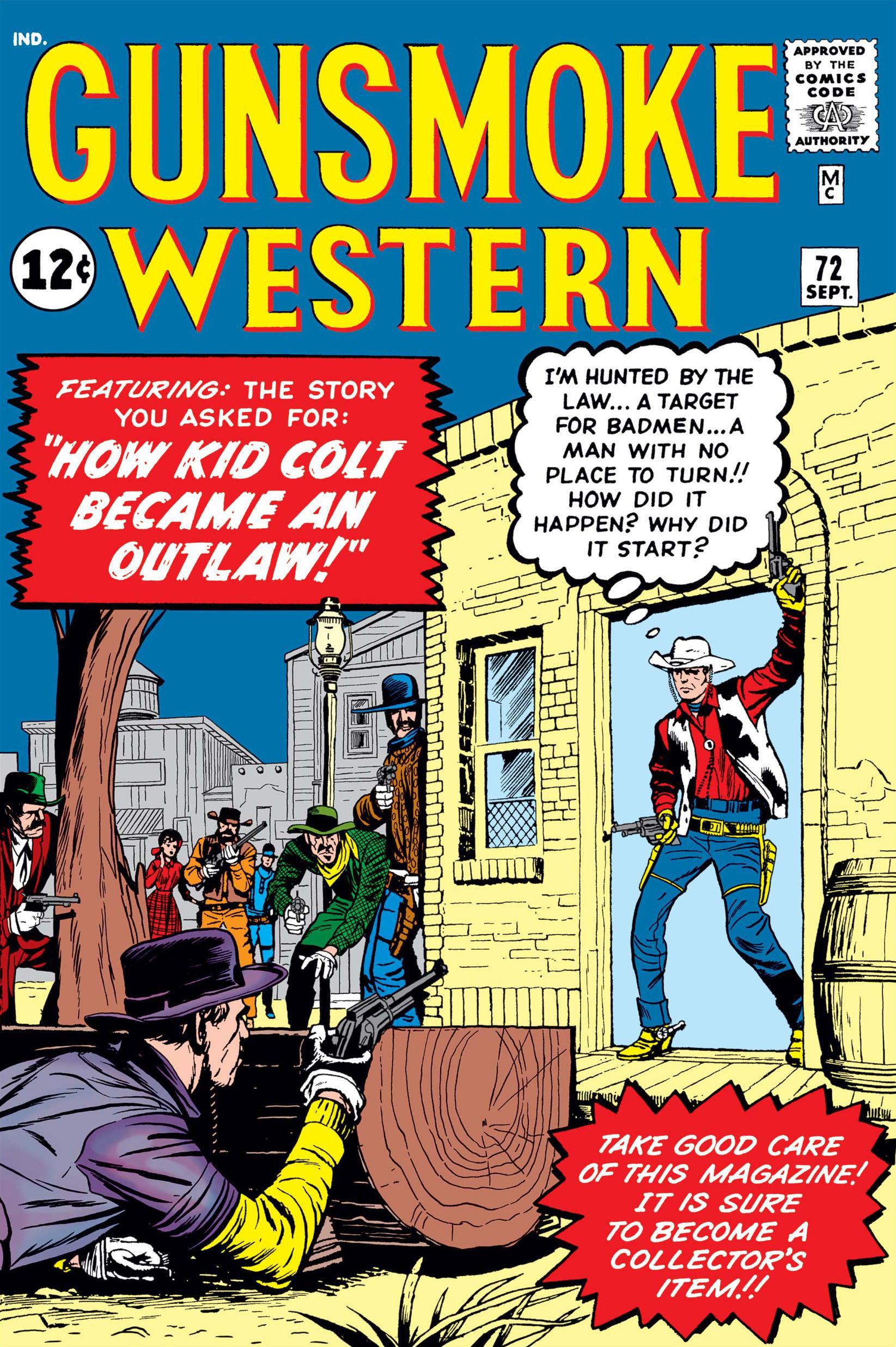 Gunsmoke Western Vol 1 72