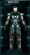 Iron Man Armor MK XXXI (Earth-199999)