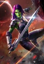Gamora Zen Whoberi Ben Titan (Earth-TRN840)