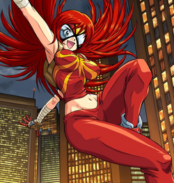Mary Jane Watson (Earth-2301) from New Mangaverse The Rings of Fate Vol 1 1 001.png
