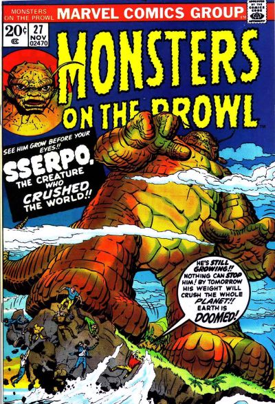 Monsters on the Prowl Vol 1 27