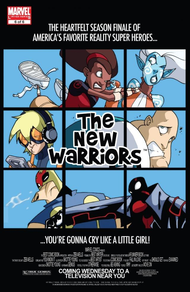 New Warriors Vol 3 6