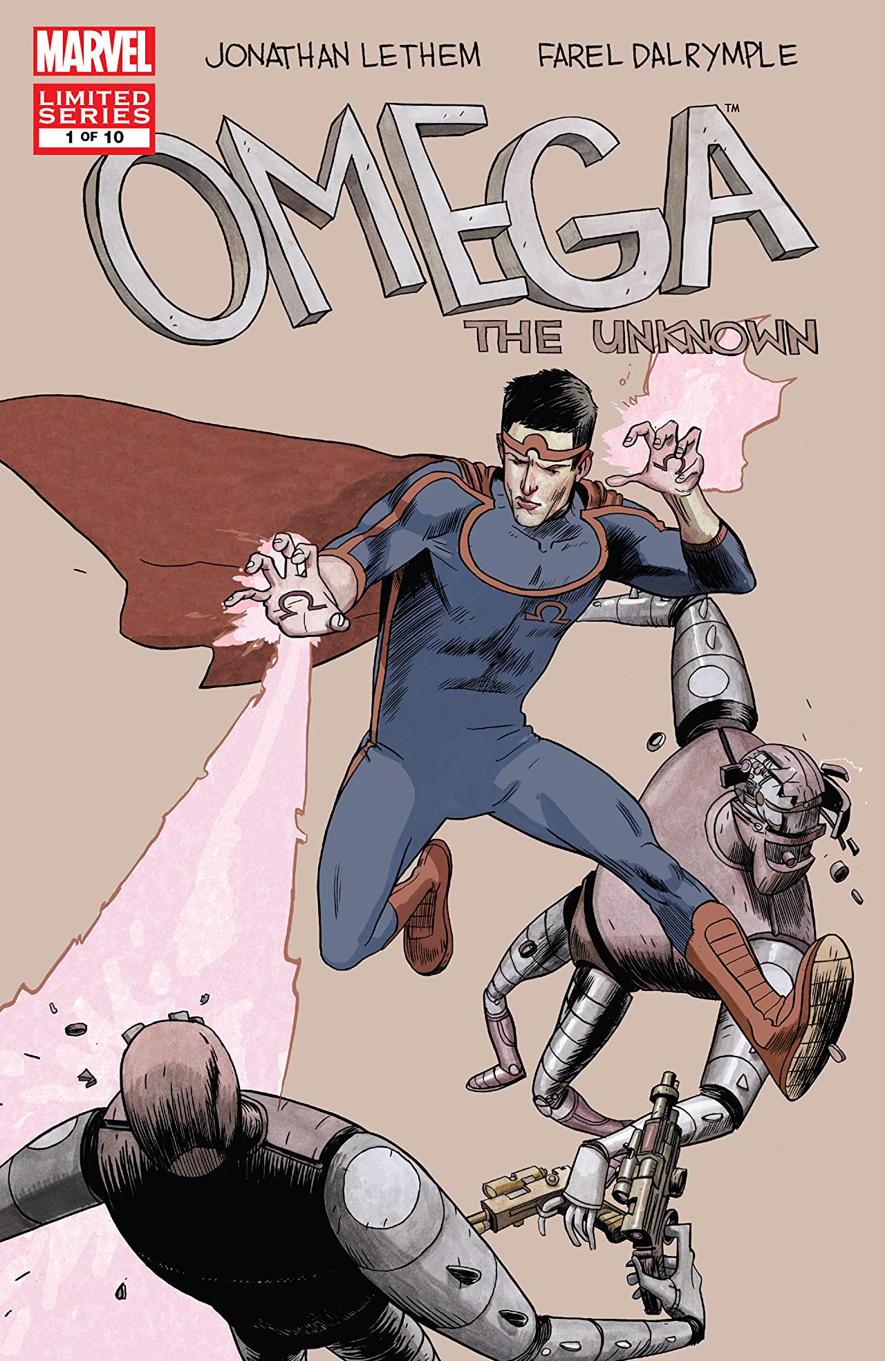 Omega: The Unknown Vol 1 1