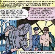 Prisoner -4756689 (Dr Octopus) (Amazing Spider-Man Annual -1)