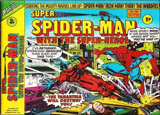 Super Spider-Man with the Super-Heroes Vol 1 196