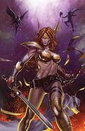 Angela Asgard's Assassin Vol 1 2 Choi Variant Textless