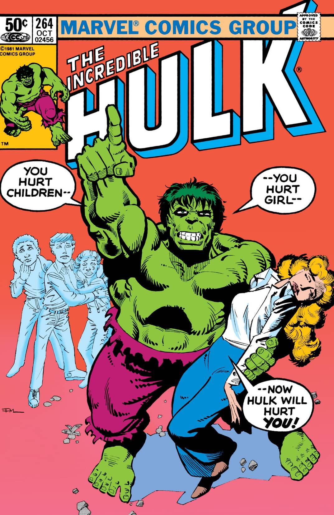 Incredible Hulk Vol 1 264