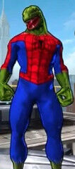 Lizard-Spider (Peter Parker) from Spider-Man Unlimited (Video Game) 0001.jpg