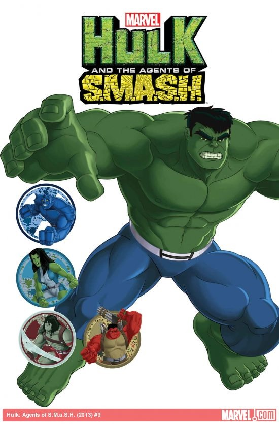 Marvel Universe: Hulk and the Agents of S.M.A.S.H. Vol 1 3