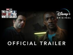 Official Trailer - The Falcon and The Winter Soldier - Disney+