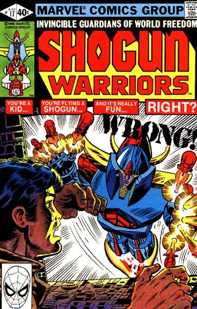 Shogun Warriors Vol 1 17