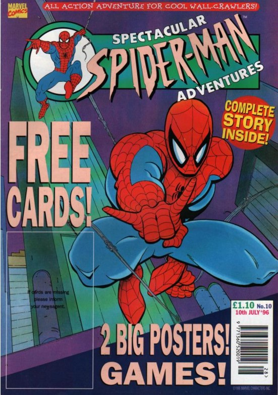 Spectacular Spider-Man (UK) Vol 1 10