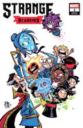 Strange Academy Vol 1 1 Young Variant