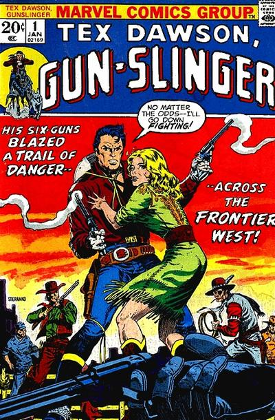 Tex Dawson, Gun-Slinger Vol 1