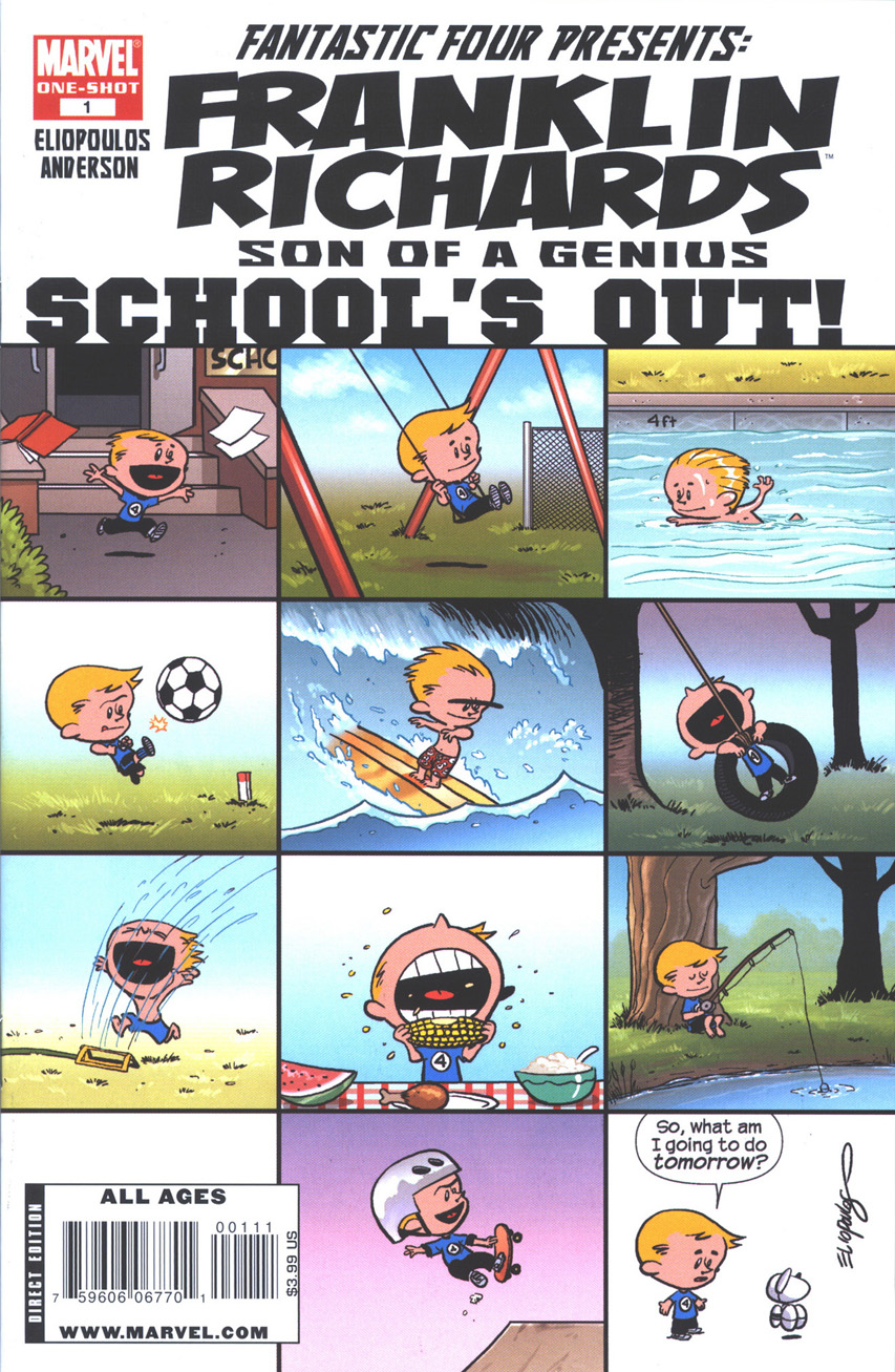 Franklin Richards: School's Out Vol 1 1
