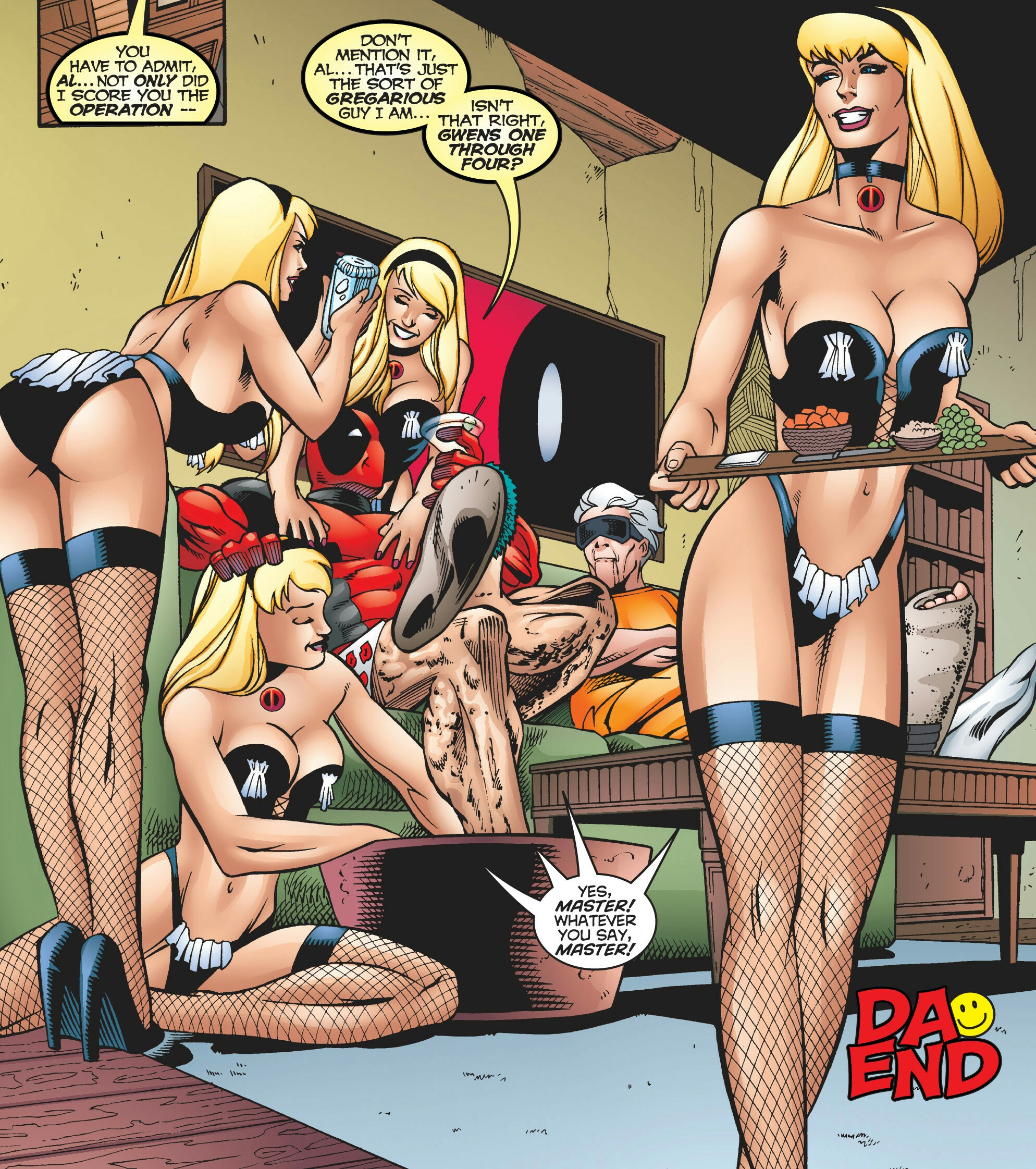 Gwen Stacy Clones (Proto-Husks) (Earth-616)