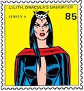 Lilith, Daughter of Dracula (Earth-616) from Marvel Value Stamps 0001