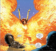 Phoenix Force (Earth-616) from X-Men Phoenix Endsong Vol 1 4 0002