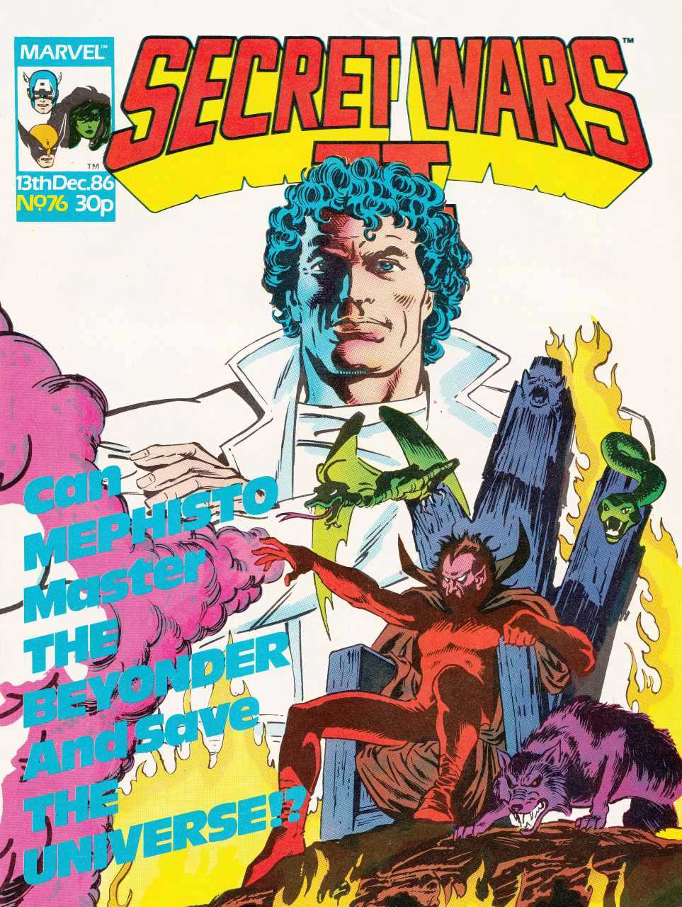 Secret Wars II (UK) Vol 1 76