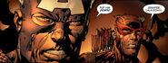 Steven Rogers & Clinton Barton (Earth-616) from Avengers Vol 1 500 0001