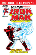 True Believers Ant-Man Presents Iron Man - The Ghost and the Machine Vol 1 1
