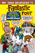True Believers Fantastic Four - Mad Thinker & Awesome Android Vol 1 1
