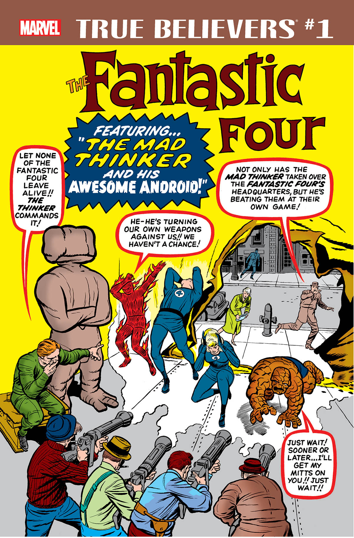 True Believers: Fantastic Four - Mad Thinker & Awesome Android Vol 1 1