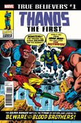 True Believers Thanos the First Vol 1 1