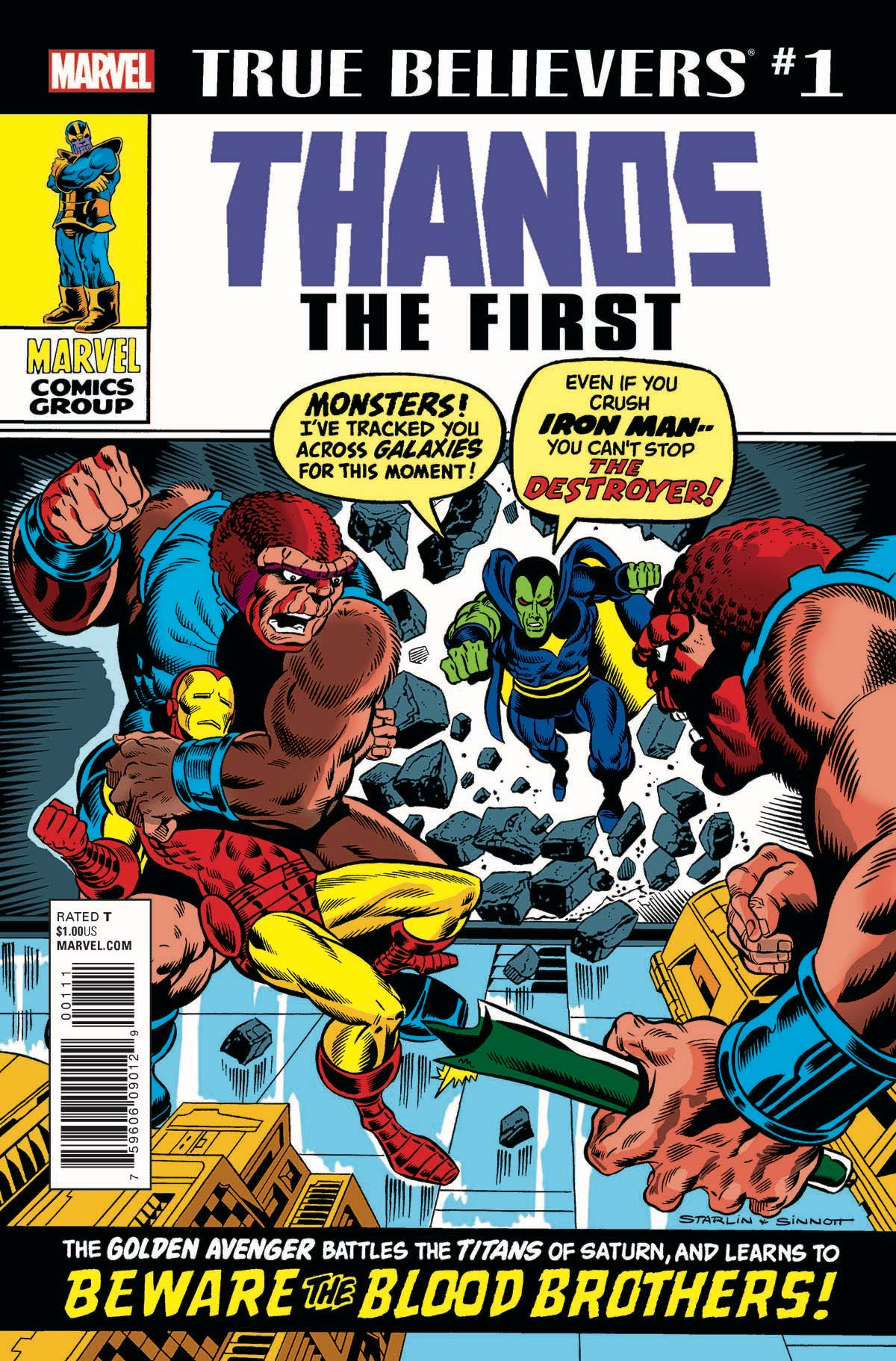 True Believers: Thanos the First Vol 1