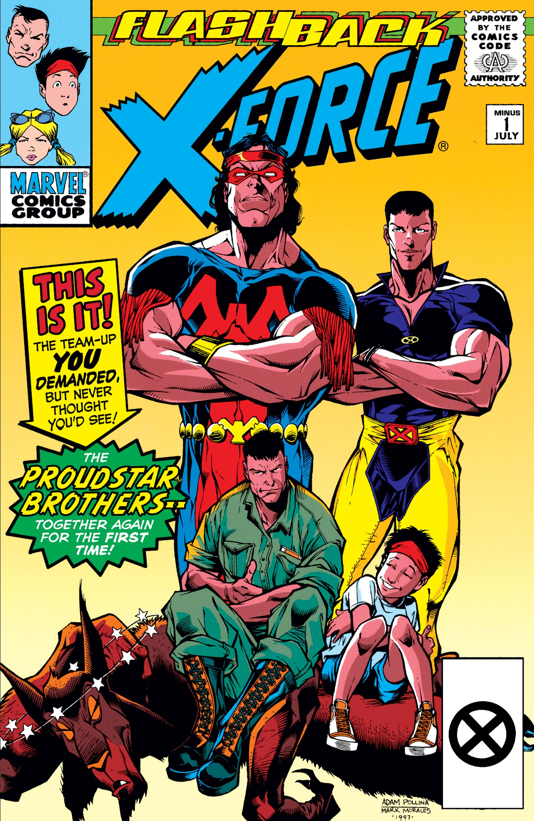 X-Force Vol 1 -1