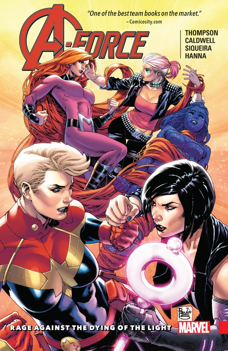 A-Force TPB Vol 1 2: Rage Against the Dying of the Light