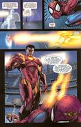 Anthony Stark (Earth-616) vs. Peter Parker (Earth-616) from Iron Man Vol 4 14 002