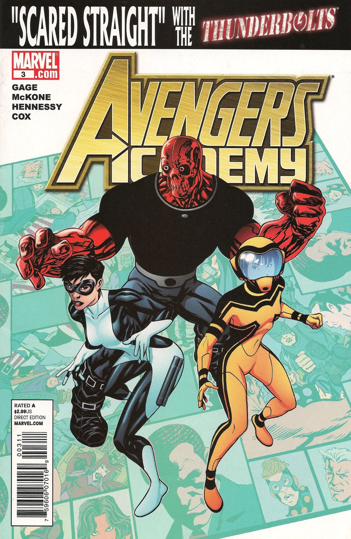 Avengers Academy Vol 1 3
