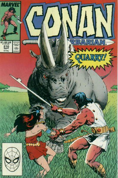 Conan the Barbarian Vol 1 210
