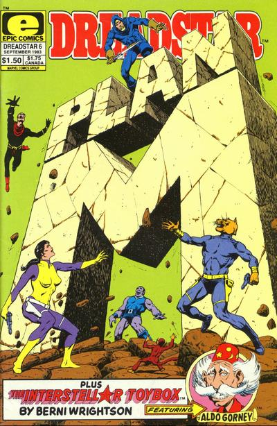 Dreadstar Vol 1 6