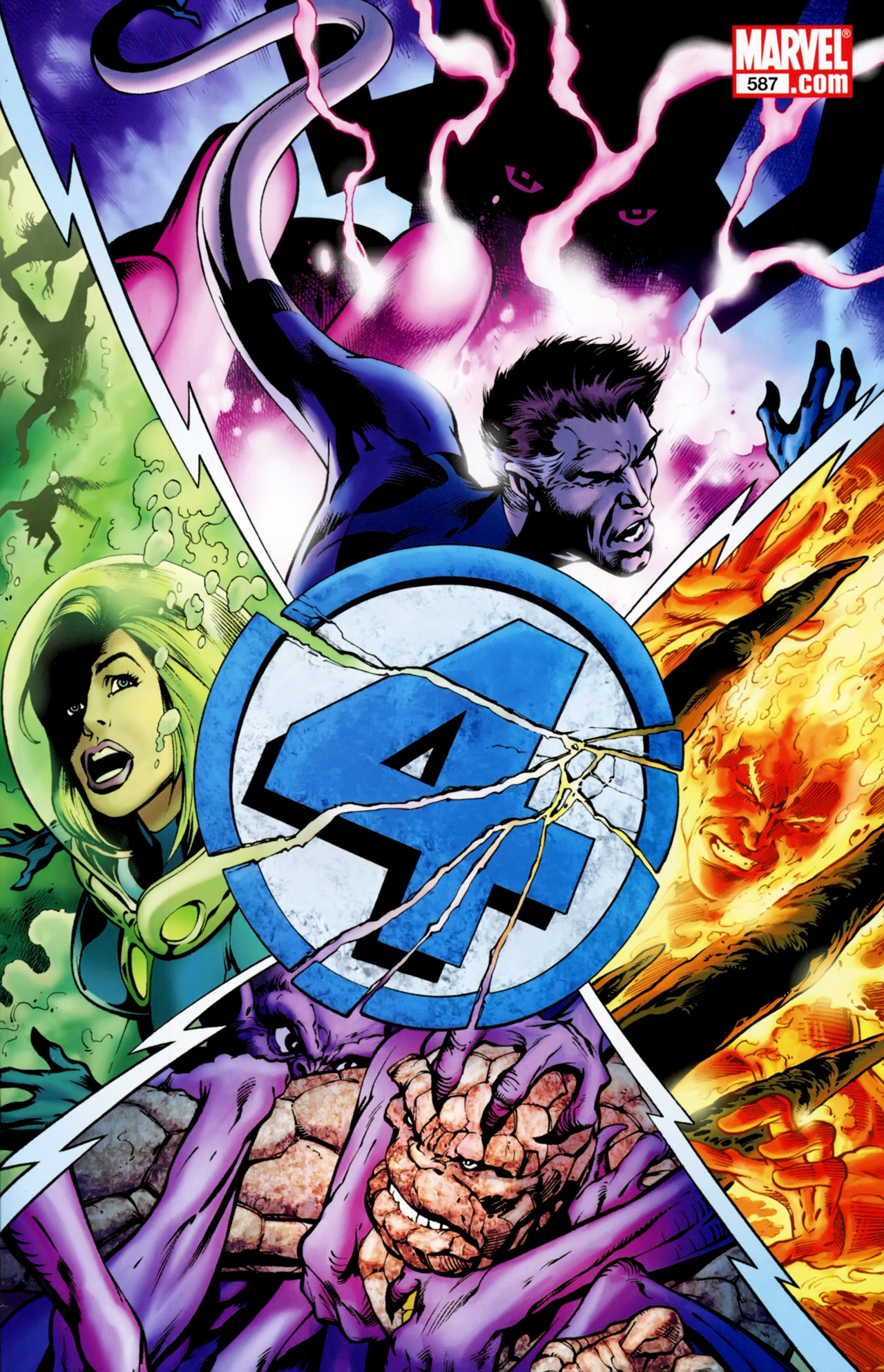 Fantastic Four Vol 1 587