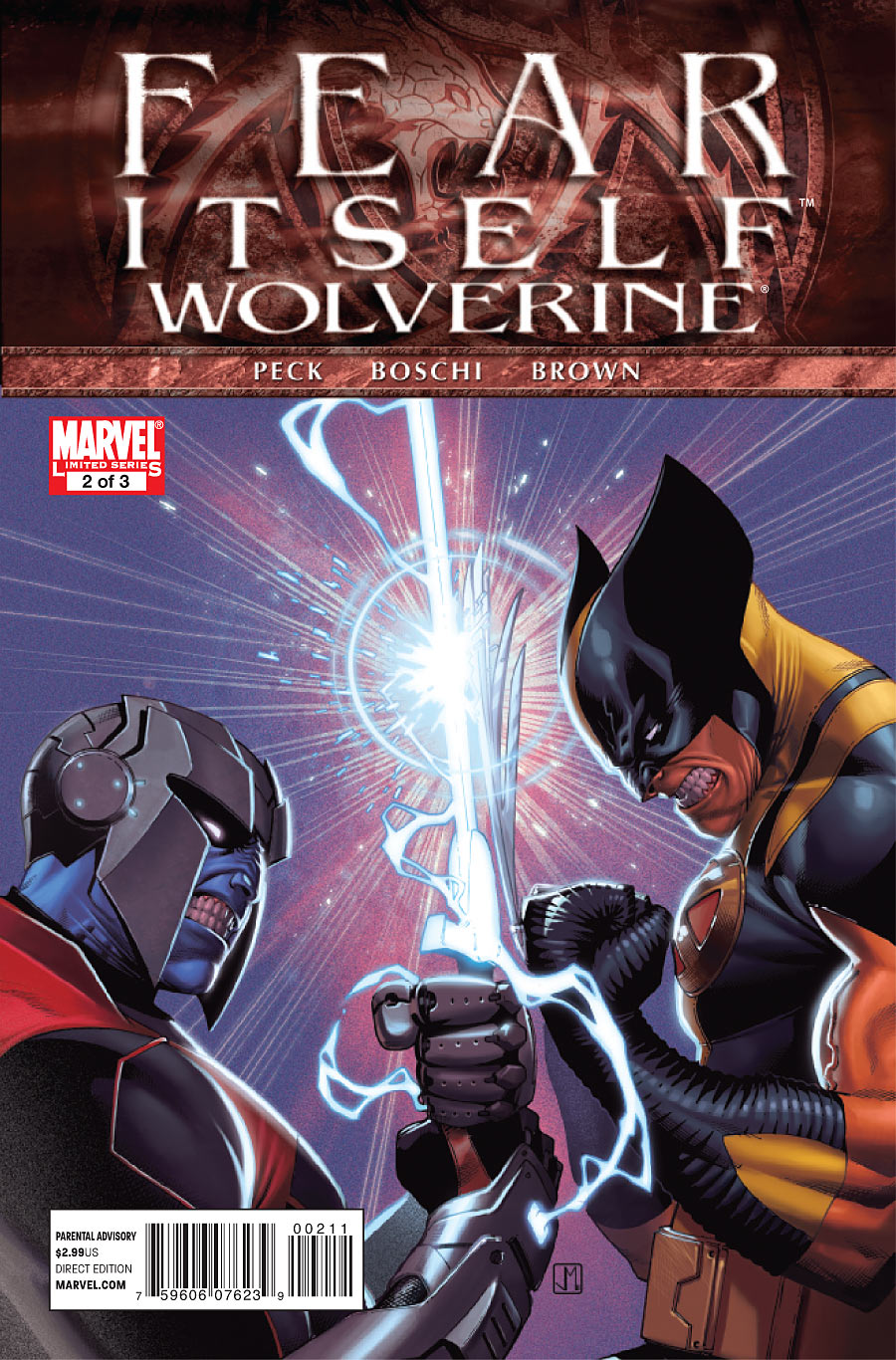 Fear Itself: Wolverine Vol 1 2