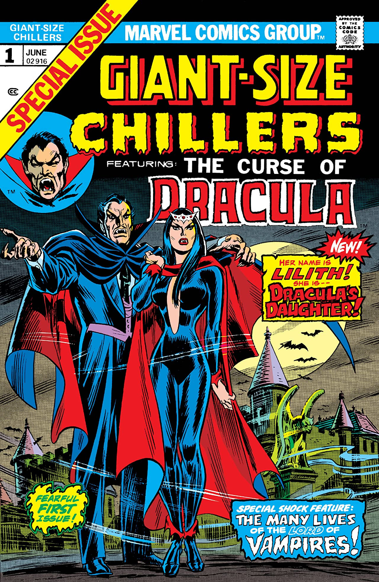 Giant-Size Chillers Featuring Curse of Dracula Vol 1