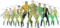 Harriers (Earth-616) from Official Handbook of the Marvel Universe Master Edition Vol 1 32 0001.jpg
