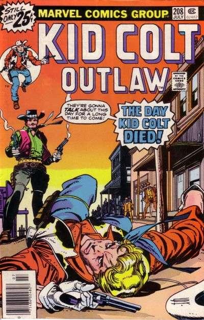 Kid Colt Outlaw Vol 1 208